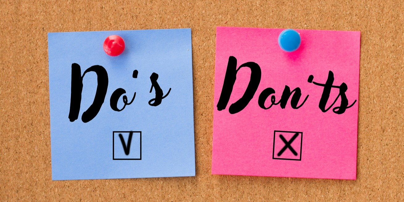 Top 10 do's and dont's for A/MEP filings