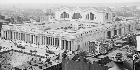 Penn Station Through the Years